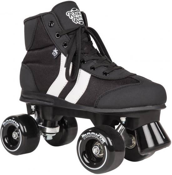 Rookie Retro rolschaats zwart/wit