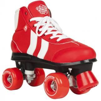 Rookie Retro rolschaats rood/wit