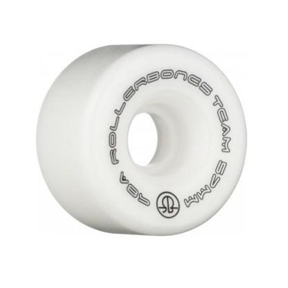 Kleine maat (57mm) rolschaats wielen wit