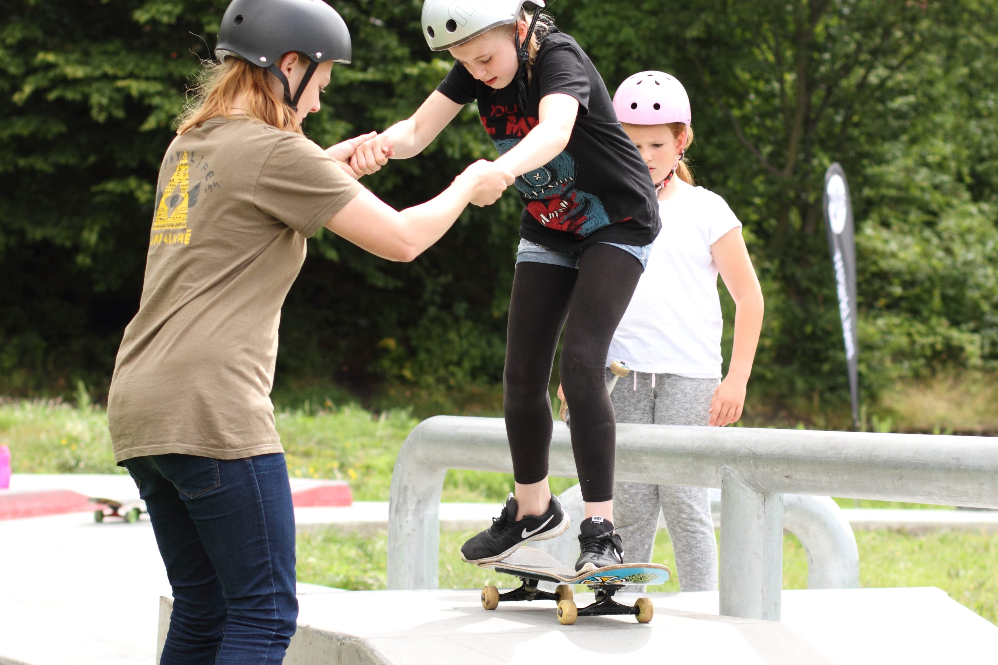 ParkLives Introduction to Skateboarding Sessions in July