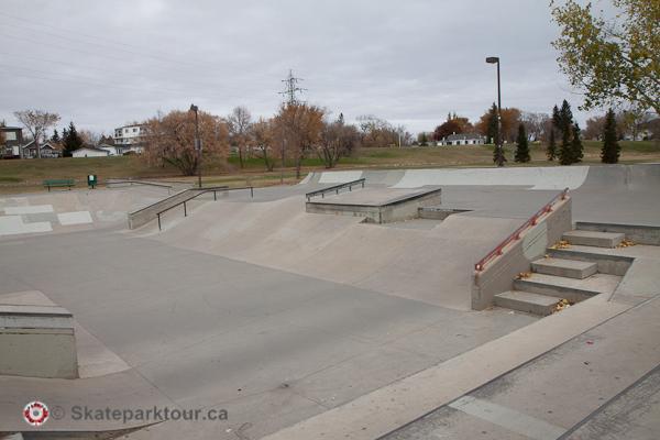 Lions Skatepark * Saskatoon SK