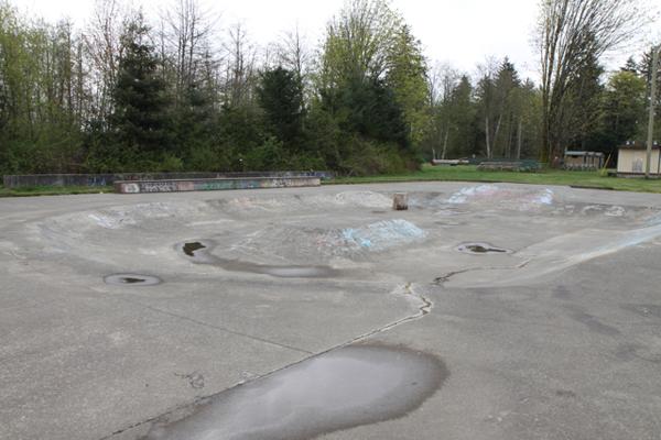 Campbell River Skatepark * Campbell River BC