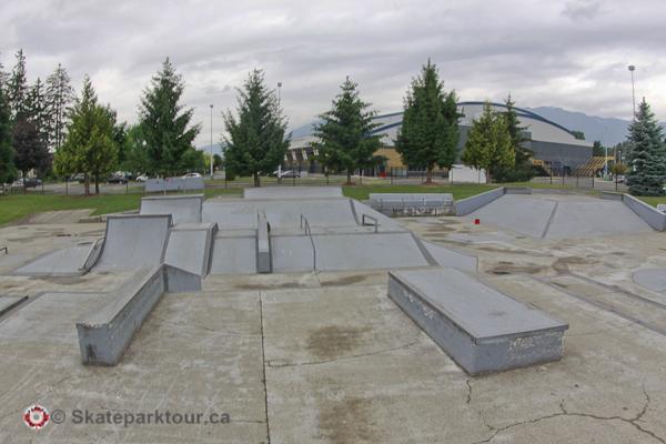 Chilliwack Landing Skatepark * Chilliwack BC