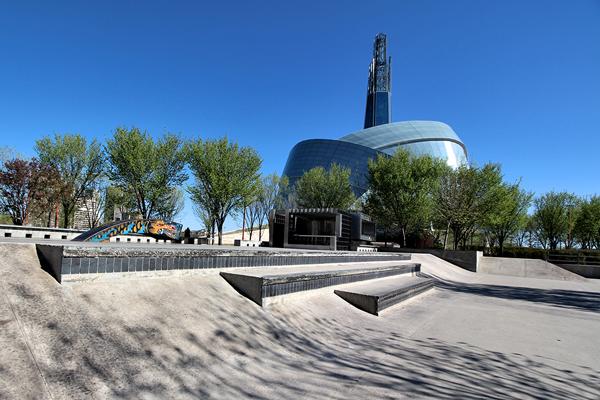 Plaza At The Forks  Skatepark *  Winnipeg MB
