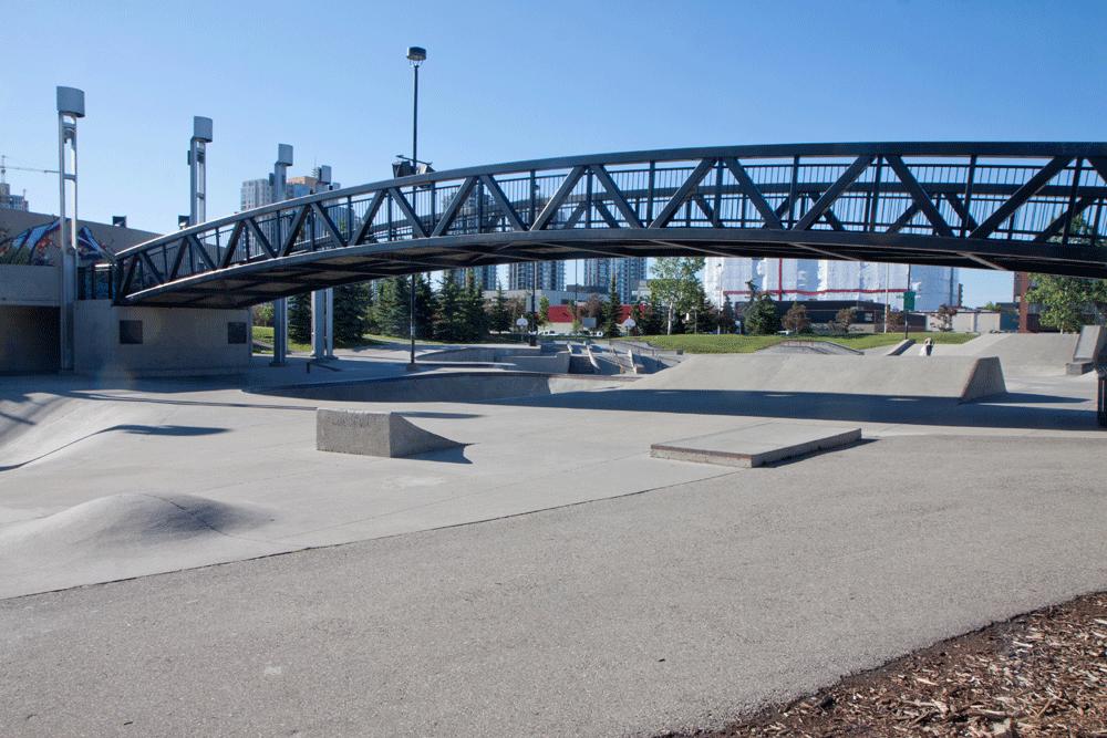 Shaw Millennium Skatepark – Calgary AB