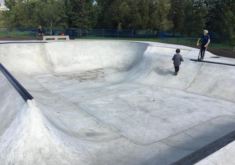 Muskoseepi Skateboard Park – Grande Prairie AB