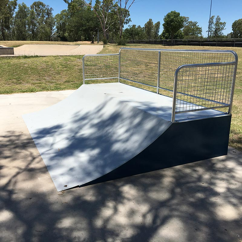 Skateramps Australia mini steel skate ramps are perfect for smaller skaters and riders.