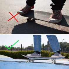 skating position