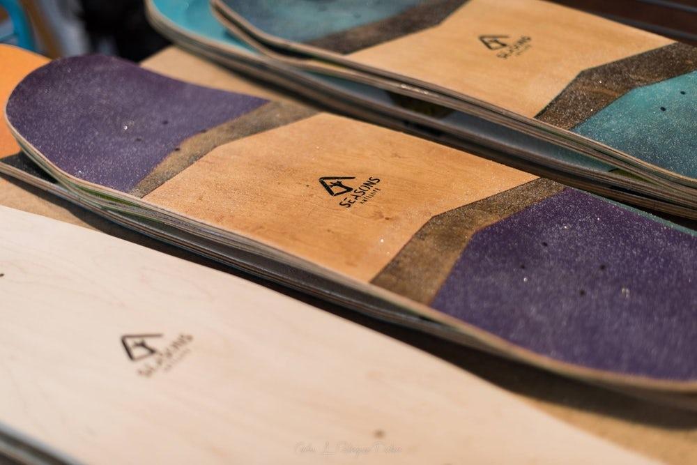skateboard deck material