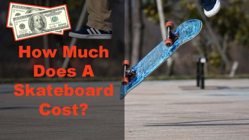 how much does a skateboard cost