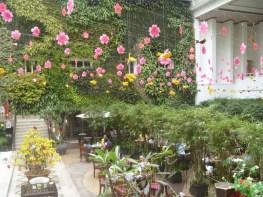 Vertical Garden inside Rex hotel