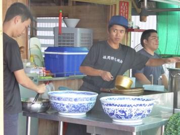 Preparing Ramen Soup
