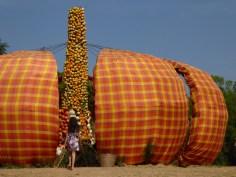 Pumpkin exibition, Jim Thompson farm