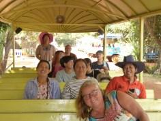 Starting the farm tour