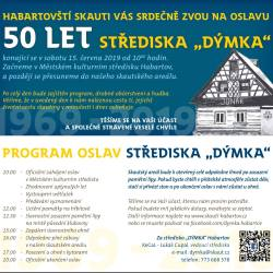 Oslavy 50 let střediska Dýmka Habartov