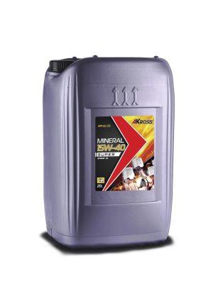 Масло моторное AKross SUPER 15W-40 SG/CD 20л