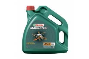 Масло моторное Castrol Magnatec 5W-40 A3/B4 SN/CF синтетика, 4 литра