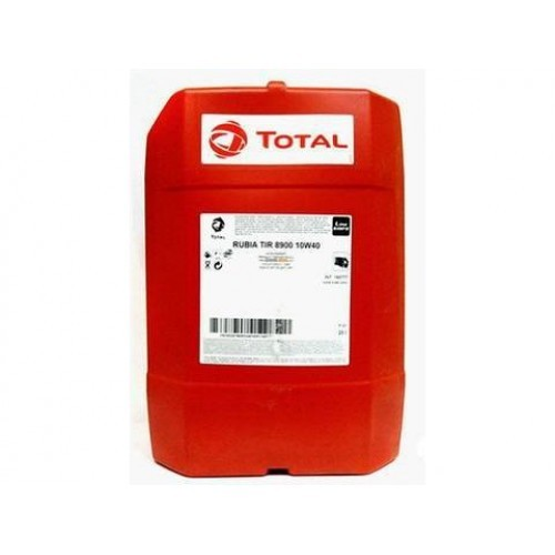 Масло дизельное Total RUBIA 8900 10W-40 Cl-4/CH-4 E6/E7/E4-99 issue 3 синтетика 20л