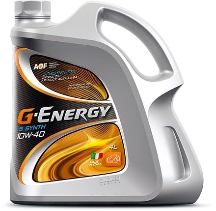 Масло моторное G-Energy S Synth 10W-40 SL/CF 5л