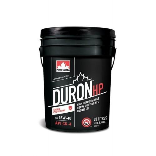 Масло дизельное PETRO-CANADA DURON HP 15W-40 SN/CK-4+ E7/E9 полусинтетика 20л
