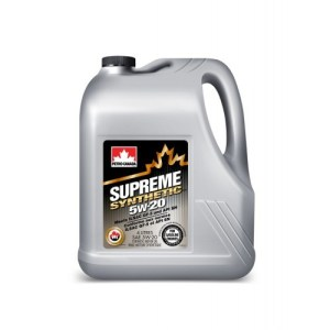Масло моторное PETRO-CANADA SUPREME SYNTHETIC 5W-20 GF-5 SN синтетика 4л