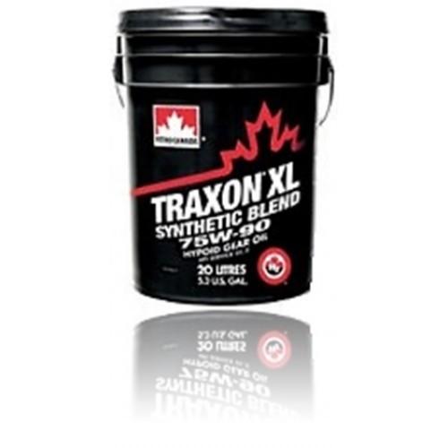 Масло трансмиссионное PETRO-CANADA TRAXON XL SYNTHETIC BLEND 75W-90 GL-5  J2360 20л