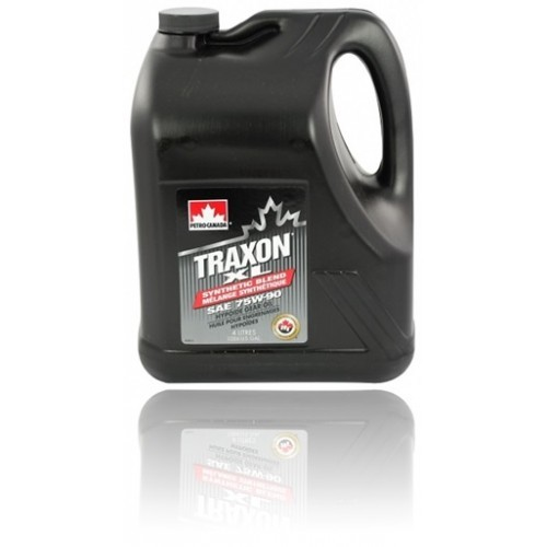 Масло трансмиссионное PETRO-CANADA TRAXON XL SYNTHETIC BLEND 75W-90 GL-5/GL-4 J2360 4л