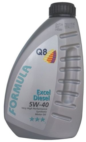 Масло дизельное Q8 F Excel Diesel 5W-40 CF A3/B3 синтетика 1л