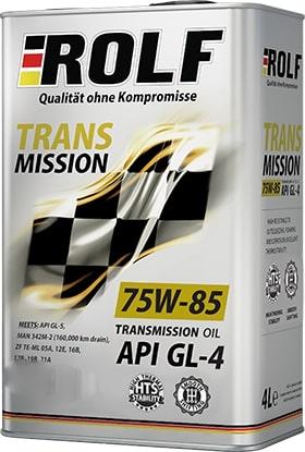 Масло трансмиссионное ROLF Transmission 75W-85GL-4 1л