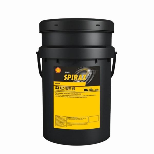 Масло трансмиссионное Shell Spirax S 3 G 80/90 GL-4 20л