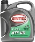 Масло трансмиссионное SINTEC ATF II Dexron 4л