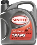 Масло трансмиссионное SINTEC Транс ТМ-5-18 80W-90 GL-5 1л