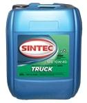 Масло дизельное SINTEC TRUCK 10W-40 CI-4/SL полусинтетика 20л