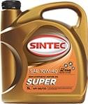 Масло моторное SINTOIL Супер 10W-40 SG/CD полусинтетика 4л АКЦИЯ