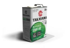 Масло моторное TAKAYAMA 10W-40 SL A3/B4 полусинтетика 20л