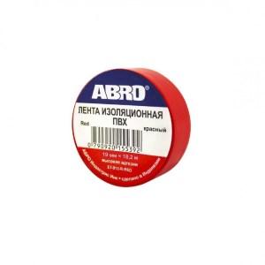 Изолента ABRO ET-912-R-RED красная