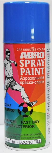 Краска-спрей ABRO 35 синяя 226г