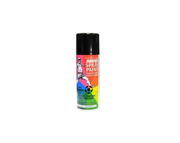 Краска-спрей ABRO SPH-202 высокотемпературная черная 473мл