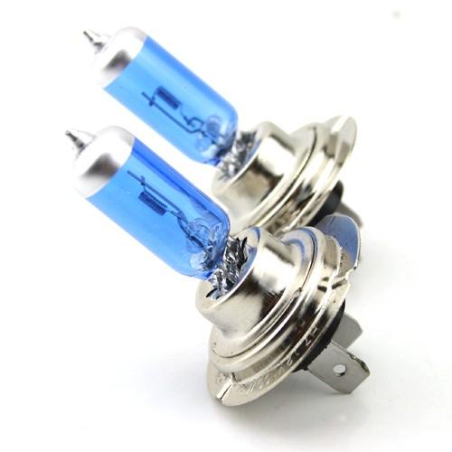 Автолампа галогенная ДИАЛУЧ 12557 BLUE-2 H7 12V 55W PX26d, голубая, дальний/ближний свет, уп.2шт