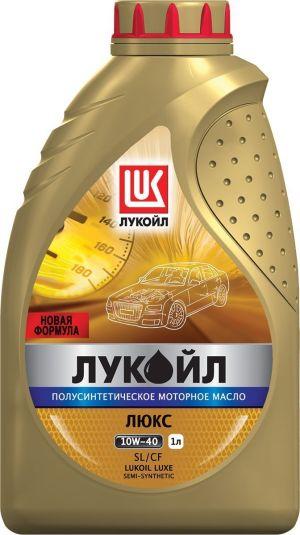 Масло моторное ЛУКОЙЛ Люкс 10W-40 SL/SF полусинтетика 1л