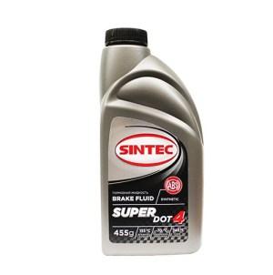 Тормозная жидкость SINTEC SUPER DOT-4 455гр