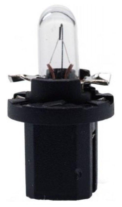 Автолампа галогенная ДИАЛУЧ 82123 black W1.2W 12V 1.2W B8.5d, черная, дальний/ближний свет
