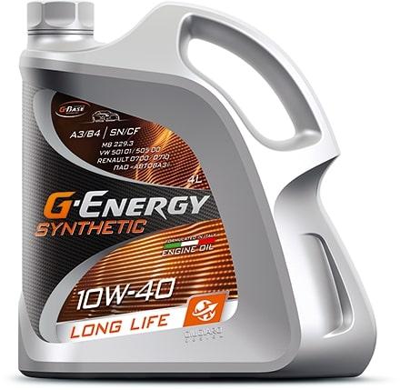 Масло моторное G-Energy Synthetic Long Life 10W-40 SN/CF 1л