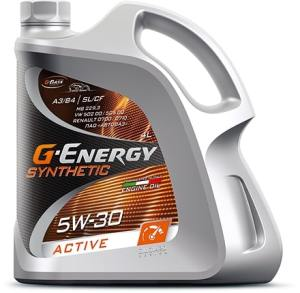 Масло моторное G-Energy Synthetic Active 5W-30 SL/CF 4л