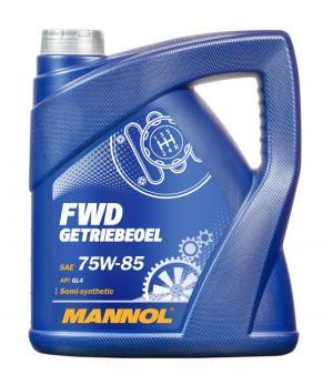 Масло трансмиссионное MANNOL FWD 75W-85 GL-4 полусинтетика 4л