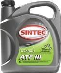 Масло трансмиссионное SINTEC ATF III Dexron 4л
