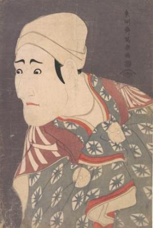八世森田勘弥の駕篭舁鴬の治郎作