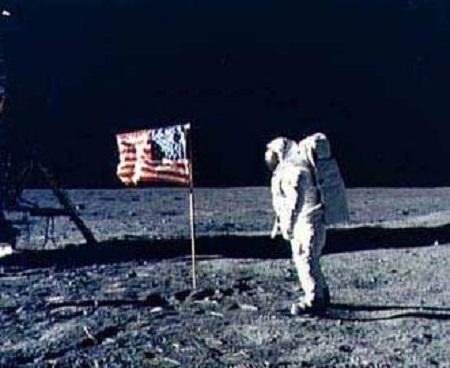 アポロ11号月面