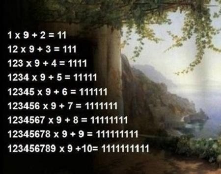 数字の不思議