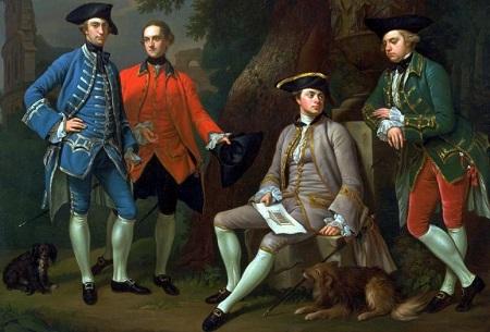 マカロニファッション18世紀ヨーロッパ